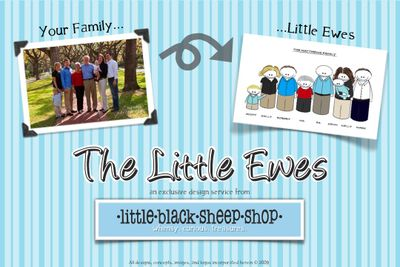 LBSS Little Ewes Flyer - back