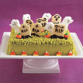 Ivillage graveyard cake