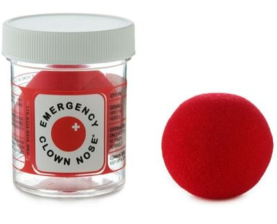 Emergency clown nose
