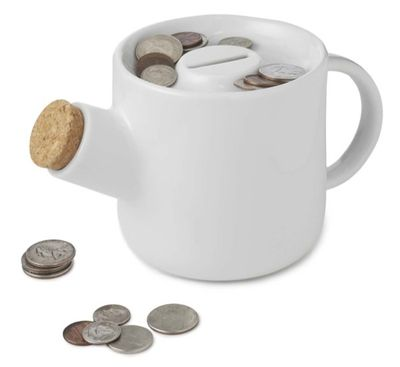 Teapot coin bank